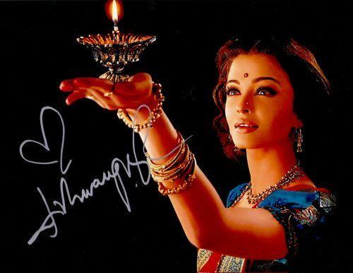 Aishwarya Rai Autogramm
