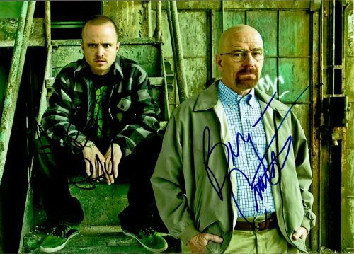 Breaking Bad Duo Autogramm