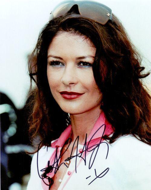 Catherine Zeta-Jones Autogramm
