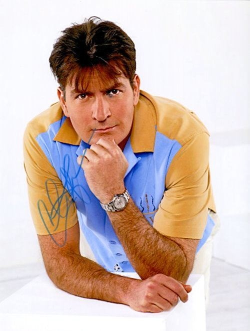 Charlie Sheen aus Two And A Half Men