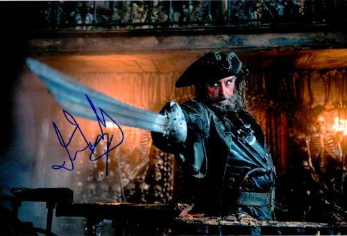 Ian McShane Autogramm