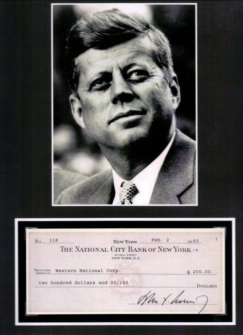 John F. Kennedy Repligraph