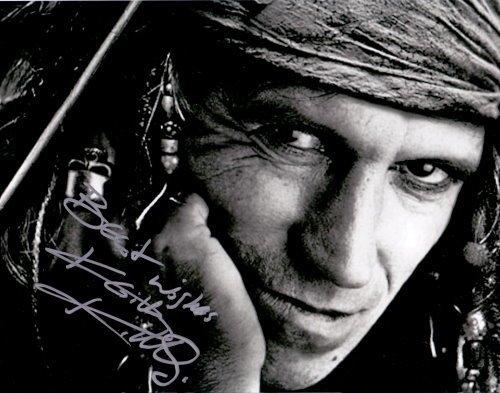 Autogramm Keith Richards von Rolling Stones