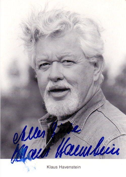 Klaus Havenstein Autogramm