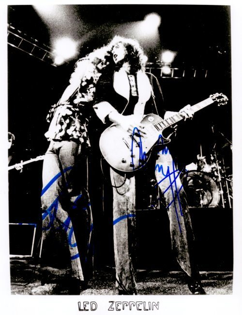 Led Zeppelin - Robert Plant + Jimmy Page=