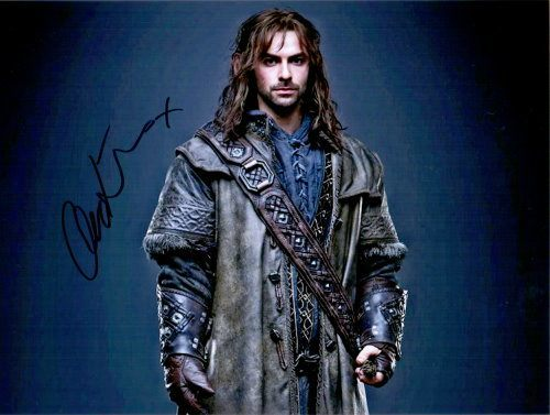 Aidan Turner Autogramm aus The Hobbit