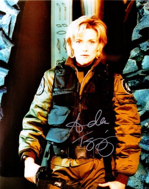 Amanda Tapping Autogramm