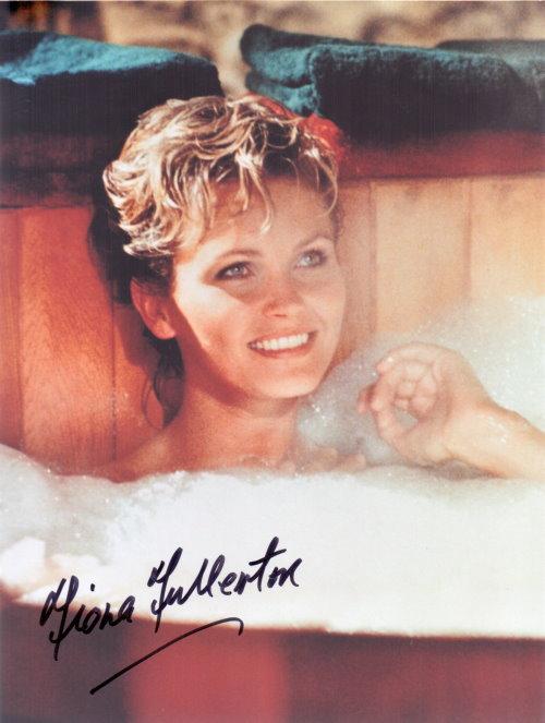Fiona Fullerton - Bondgirl Autogramm