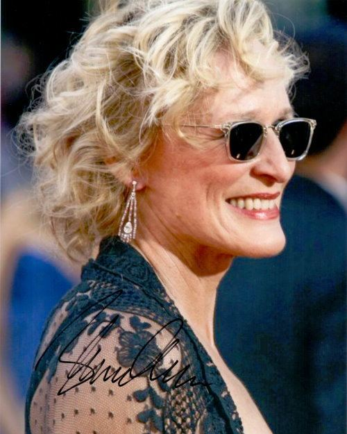 Glenn Close - Autogramm