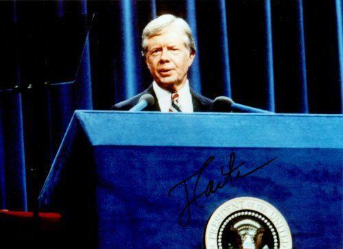 Jimmy Carter Autogramm