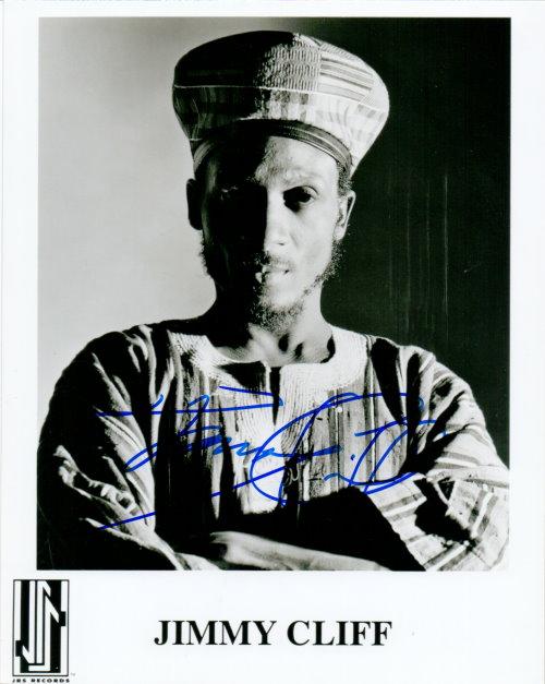 Jimmy Cliff Autogramm