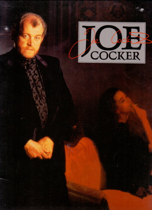 joe cocker tourbook
