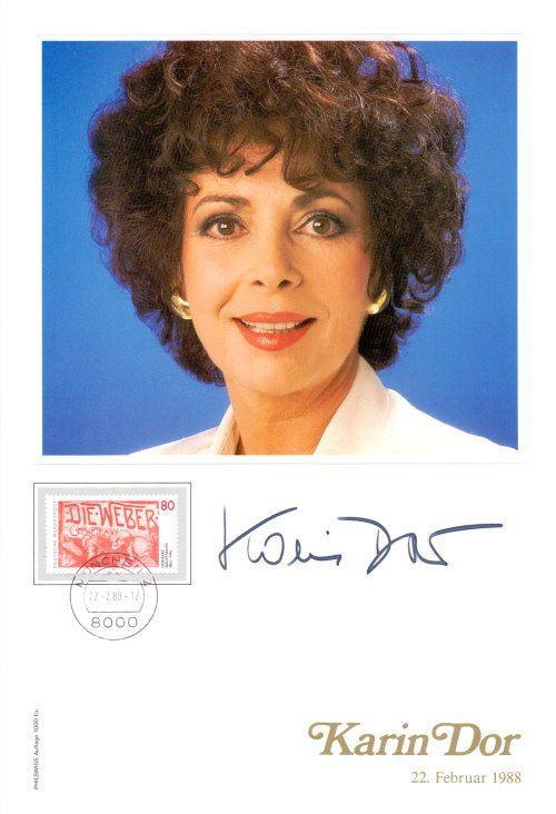Karin Dor Autogramm