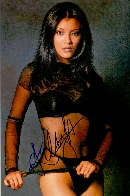 Kelly Hu Autogramm