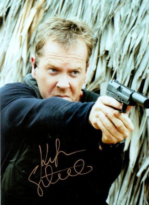 Kiefer Sutherland Autogramm
