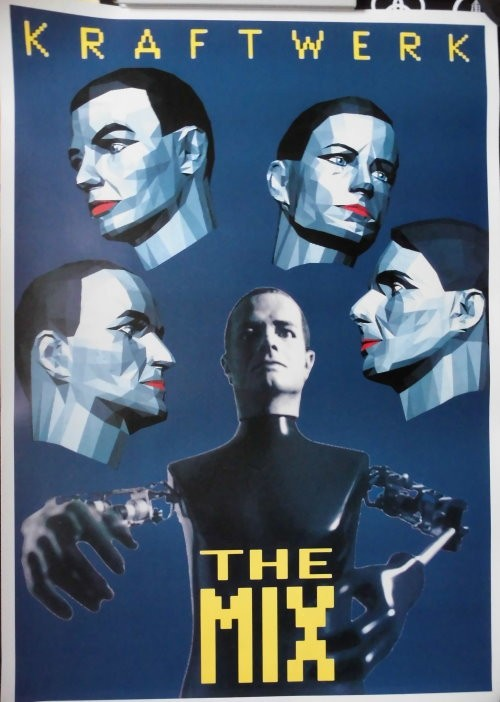 Kraftwerk Promotion-Plakat