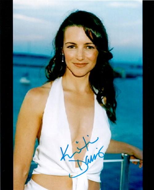 Kristin Davis Autogramm