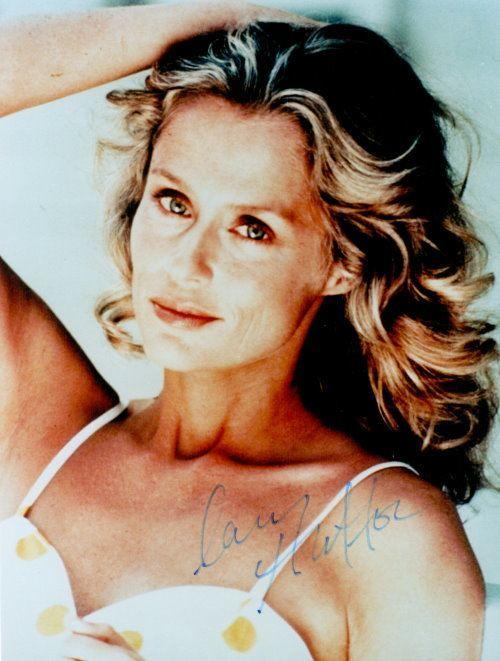 Lauren Hutton Autogramm