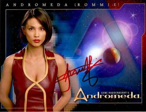 Lexa Doig Autogramm - Andromeda