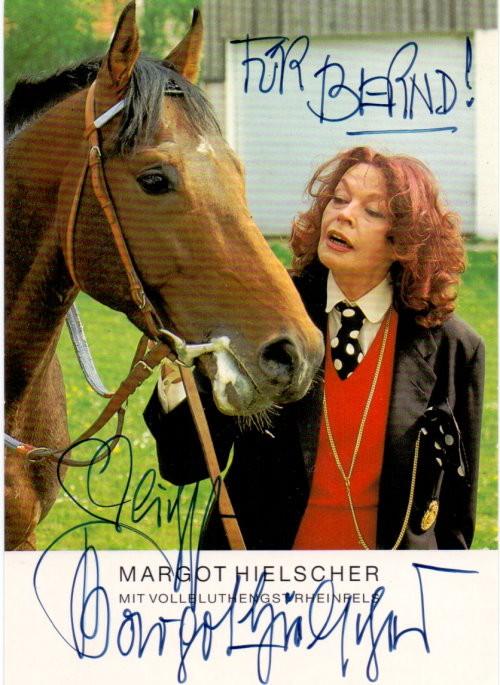 Margot Hielscher Autogramm