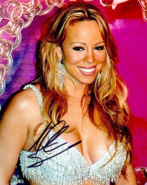 Mariah Carey Autogramm