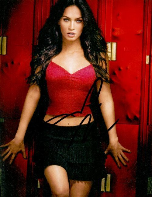 Megan Fox Autogramm