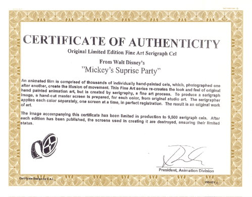 mickeys surprise party