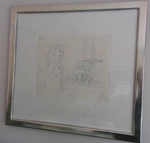 Disney's Pinocchio - Original Drawing