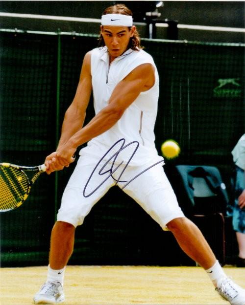 Rafael Nadal Autogramm