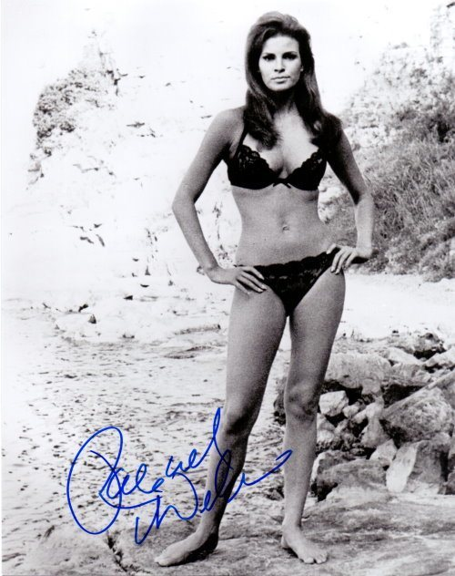 Raquel Welch Autogramm