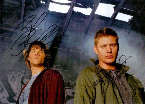 Supernatural Duo Autogramm