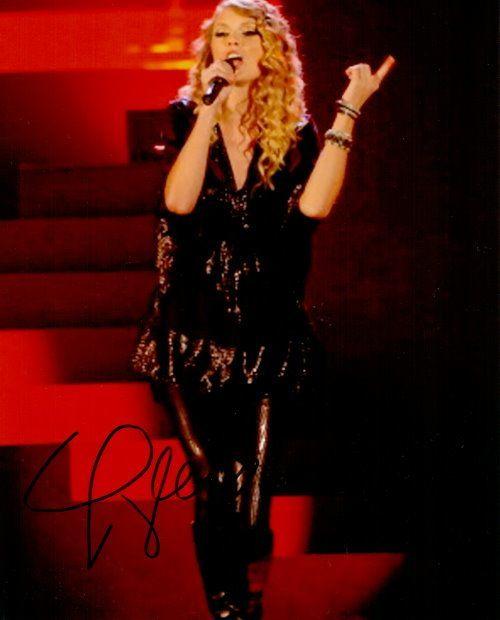 Taylor Swift Autogramm