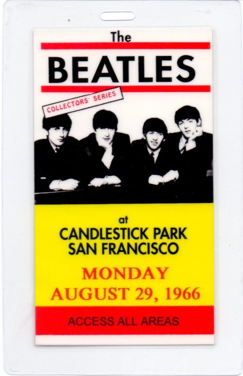 tourpass beatles candlestick park