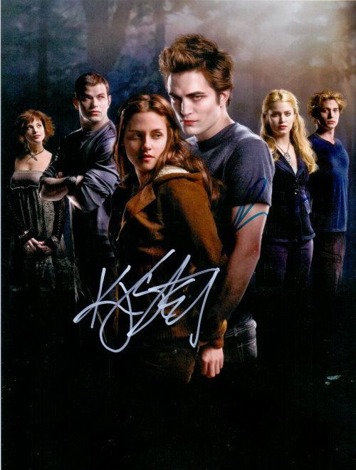 Twighlight Autogramm Kristen Stewart + Robert Pattinson