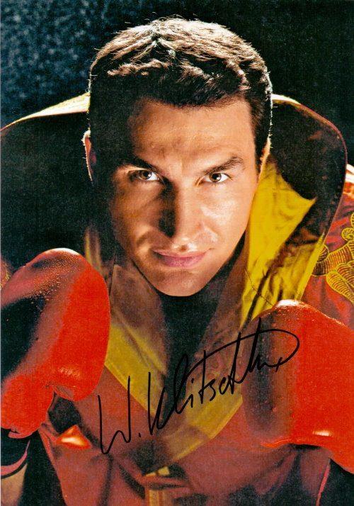 Wladimir Klitschko Autogramm