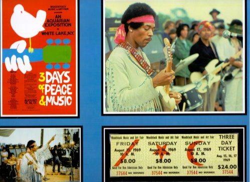 Jimmy Hendrix in Woodstock