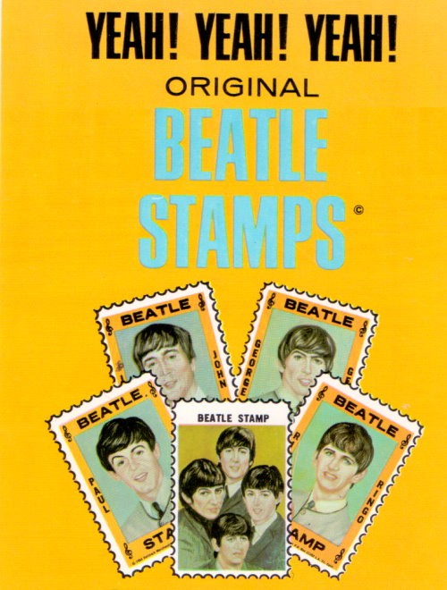 beatles Briefmarken