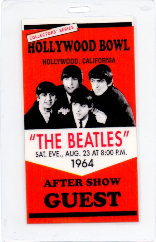 The Beatles - After Show Tour-Pass