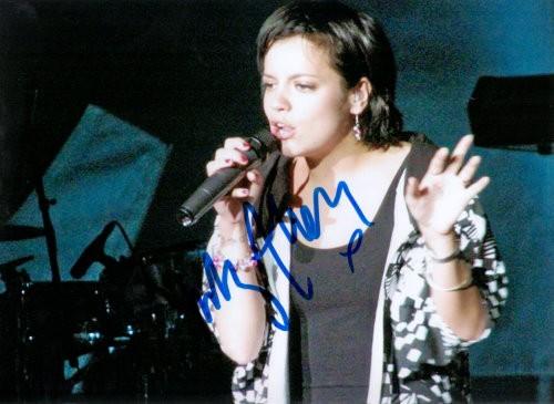 Lily Allen Autogramm
