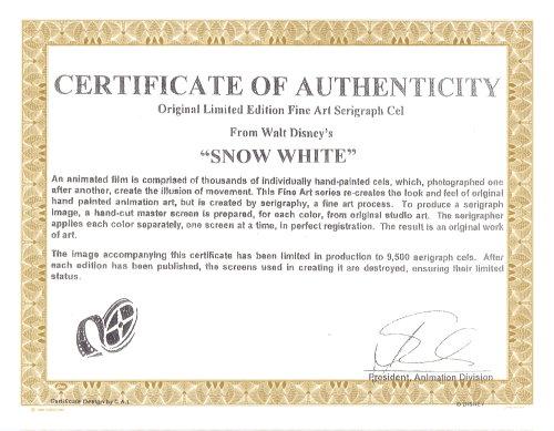 snow white cel
