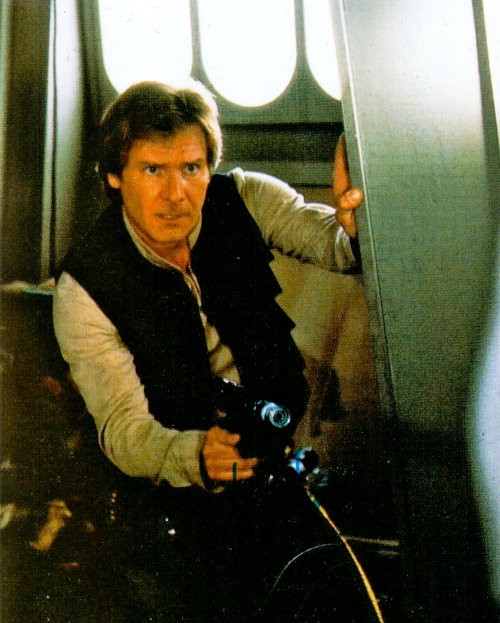 Harrison Ford Autogramm als Han Solo in Star Wars