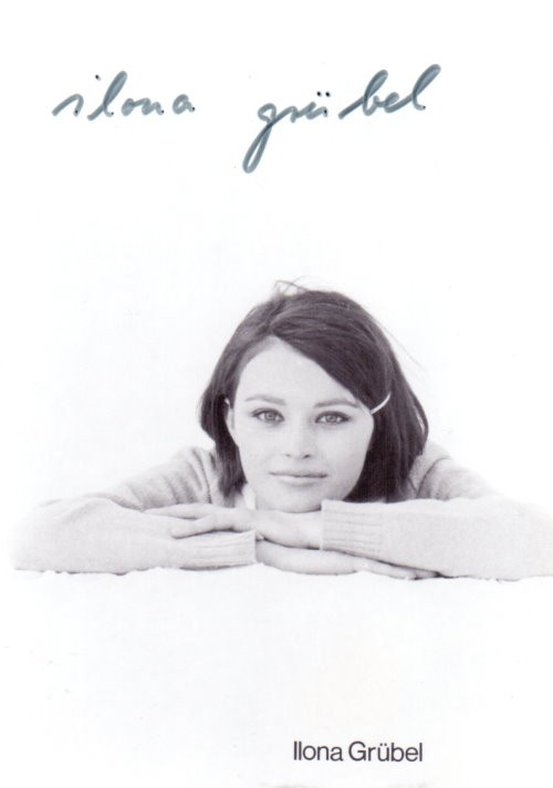 Ilona Grübel Autogramm