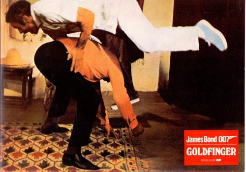 James Bond - Goldfinger - Original Lobbycard