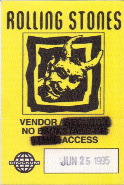 Rolling Stones - Tour-Pass