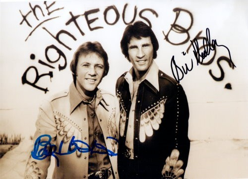 The Righteous Brothers Autogramm
