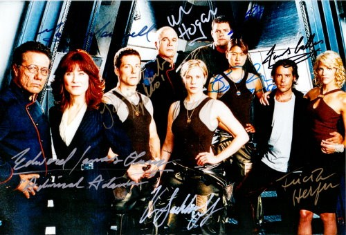 Battlestar Galactica - Cast Autogramm