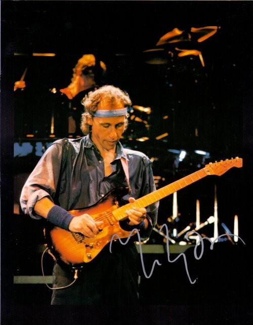 Mark Knopfler von Dire Straits Autogramm