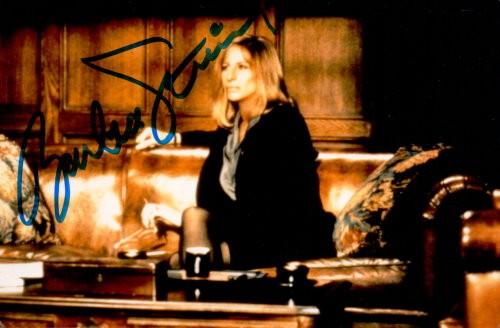 Barbra Streisand Autogramm