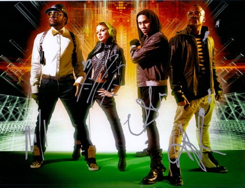 The Black Eyed Peas Autogramm
