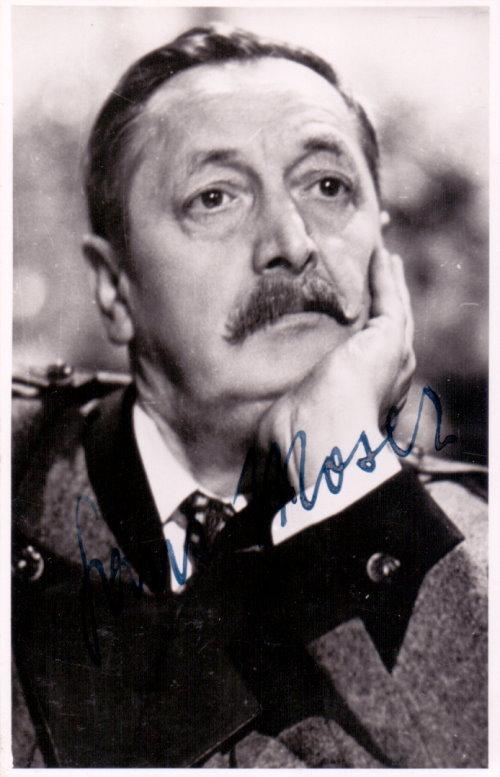 Hans Moser Autogramm